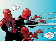 Peter Porker (Earth-25), Peter Parker (Ben Reilly) (Earth-94), & Ezekiel Sims (Earth-4) 001