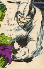 Susquatch (Earth-616) from Hulk Comic (UK) Vol 1 12 Cover
