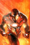 Ultimate Comics Iron Man Vol 1 1 Dell'Otto Variant Textless