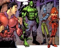 Unus' Gang (Earth-616) from Excalibur Vol 3 1 001