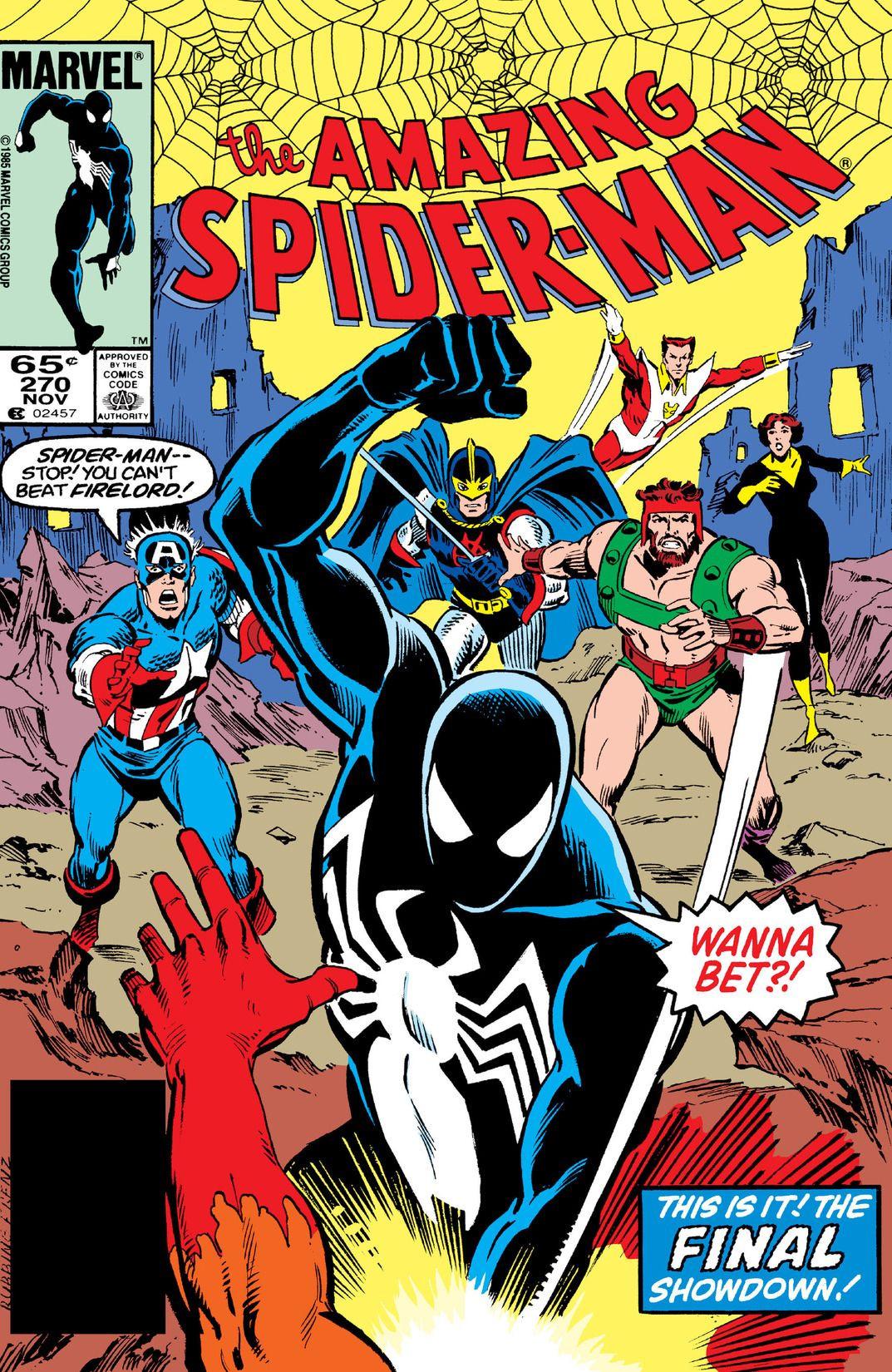 amazing spider man vol 1 270 marvel database fandom powered by wikia