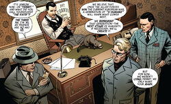 Dennis Piper (Earth-616) and Scientists Guild (Earth-616) from Marvel Comics Vol 1 1000 001