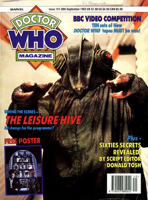 Doctor Who Magazine Vol 1 191