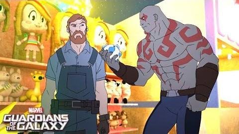 Drax Attacks! Marvel Guardians of the Galaxy Disney XD