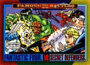 Fantastic Four (Earth-616) and Secret Defenders (Earth-616) from Marvel Universe Cards Series IV 0001
