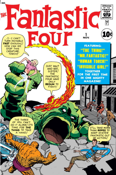 Image result for the fantastic 4 issue #1
