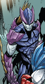 Hive (Poisons) (Earth-17952) Members-Poison Hawkeye from Venomverse Vol 1 2 001