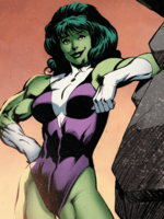 Jennifer Walters (Earth-25315) from Captain Britain and the Mighty Defenders Vol 1 2 001