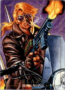 Johnathon Blaze (Earth-616) from Marvel Masterpieces Trading Cards 1992 0001