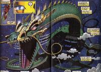 Mandarin's Dragon of Heaven from Iron Man Vol 3 9