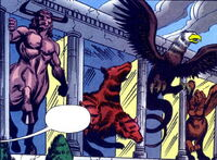 Menagerie of Myth (Earth-616) from Marvel Team-Up Vol 2 2 0001
