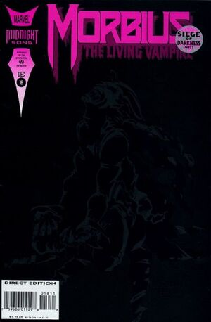 Morbius The Living Vampire Vol 1 16