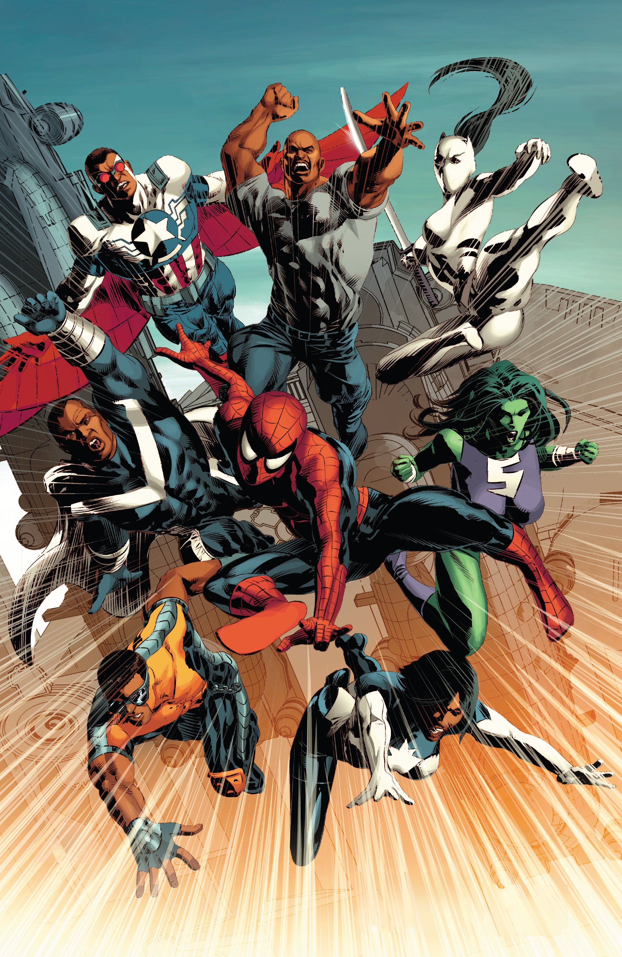Mighty avengers cage earth 616 marvel database fandom powered by wikia - Heros avengers ...