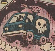 Punisher's Battle Van from What The--?! Vol 1 1 001