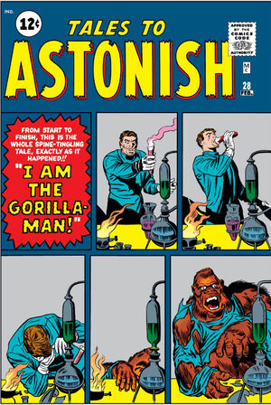 Tales to Astonish Vol 1 28
