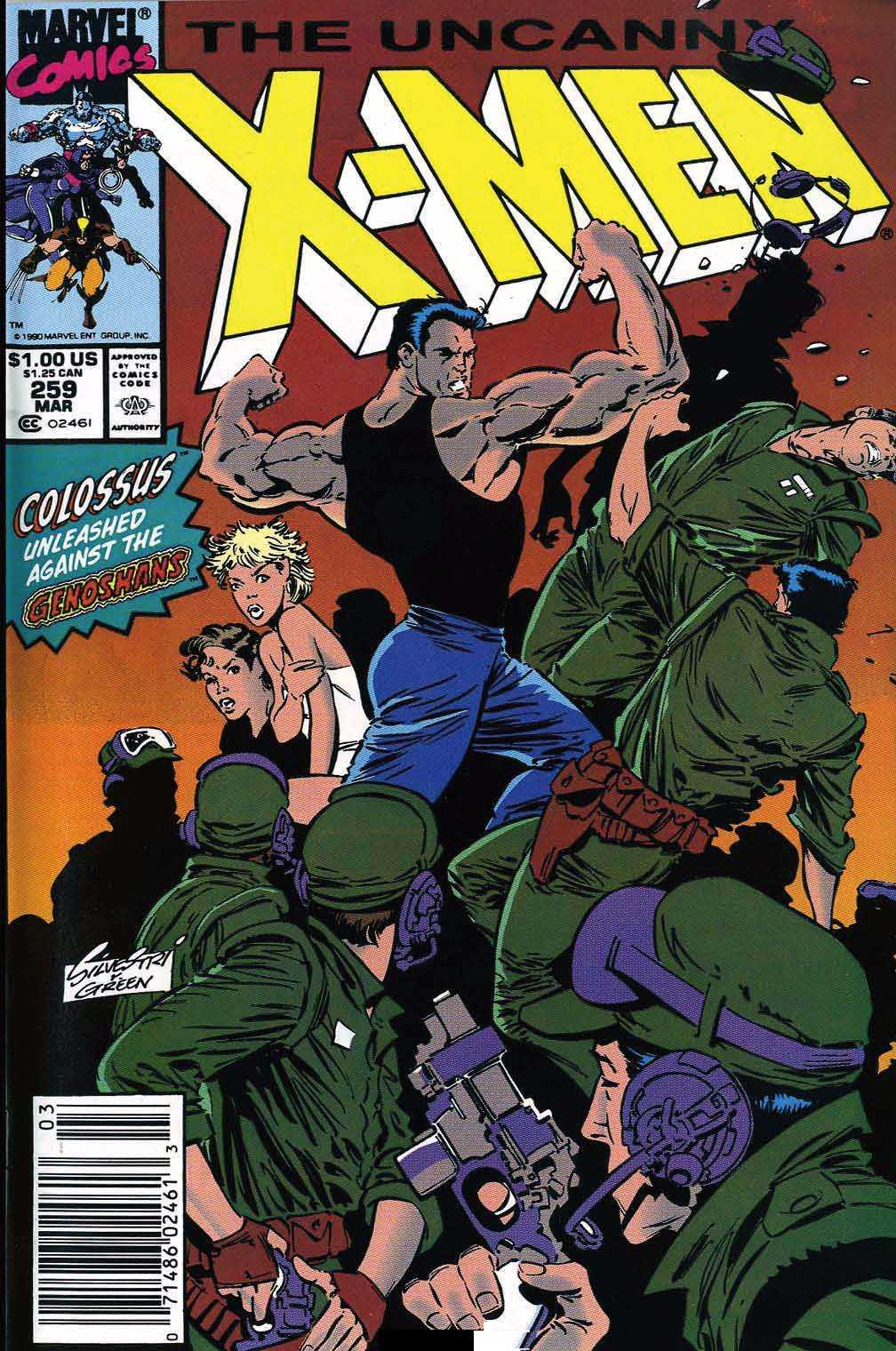 Uncanny X-Men Vol 1 259. Uncanny X-Men Vol 1 259
