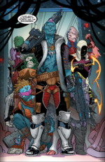 Yondu Udonta and the Ravagers (Earth-616) from Star-Lord Vol 1 2 0001