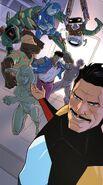 A.I. Army (Earth-616), Jocasta Pym (Earth-616), Virginia Potts (Earth-616) and Doctor Shapiro (Earth-616) from Iron Man 2020 Vol 2 5 001