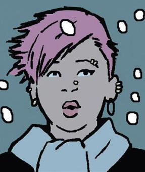 File:Aimee (Clint Barton's neighbor) (Earth-616) from Hawkeye Vol 4 6 001.jpg