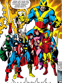 Avengers (Earth-81225) from What If? Vol 1 25 0001
