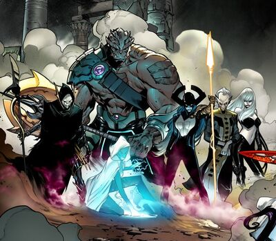 Black Order (Earth-616) from Avengers Vol 1 676 001