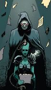 Chthon (Earth-616) and Faira Sar Namora (Earth-616) from New Warriors Vol 5 5 001
