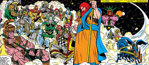 Council of Godheads (Earth-616) from Thor Vol 1 300 001