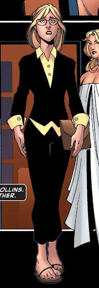 Gail Collins (Earth-616) from New X-Men Vol 2 28 0001
