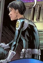 Maria Hill (Earth-7642) from New Avengers Transformers Vol 1 1 001