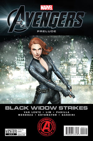 Marvel The Avengers Black Widow Strikes Vol 1 2