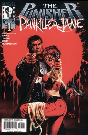 Punisher Painkiller Jane Vol 1 1