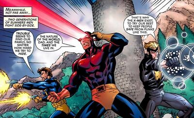 Summers Family from X-Men Forever 2 Vol 1 8 001
