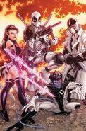 Uncanny X-Force Vol 1 19 Variant Bradshaw Textless