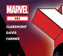 Uncanny X-Men Vol 1 451