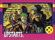 Upstarts (Earth-616) from X-Men 1992 Trading Cards 0001