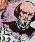 William Shakespeare (Earth-616) from Fantastic Four Vol 1 212