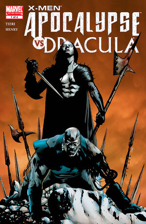 X-Men Apocalypse vs Dracula Vol 1 1