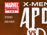 X-Men: Apocalypse vs. Dracula Vol 1 1
