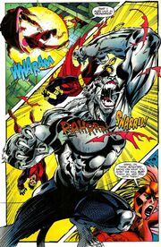 Acolyes, Azura, White Tiger (Evolved Tiger) (Earth-616) from Heroes from Hire Vol 1 9