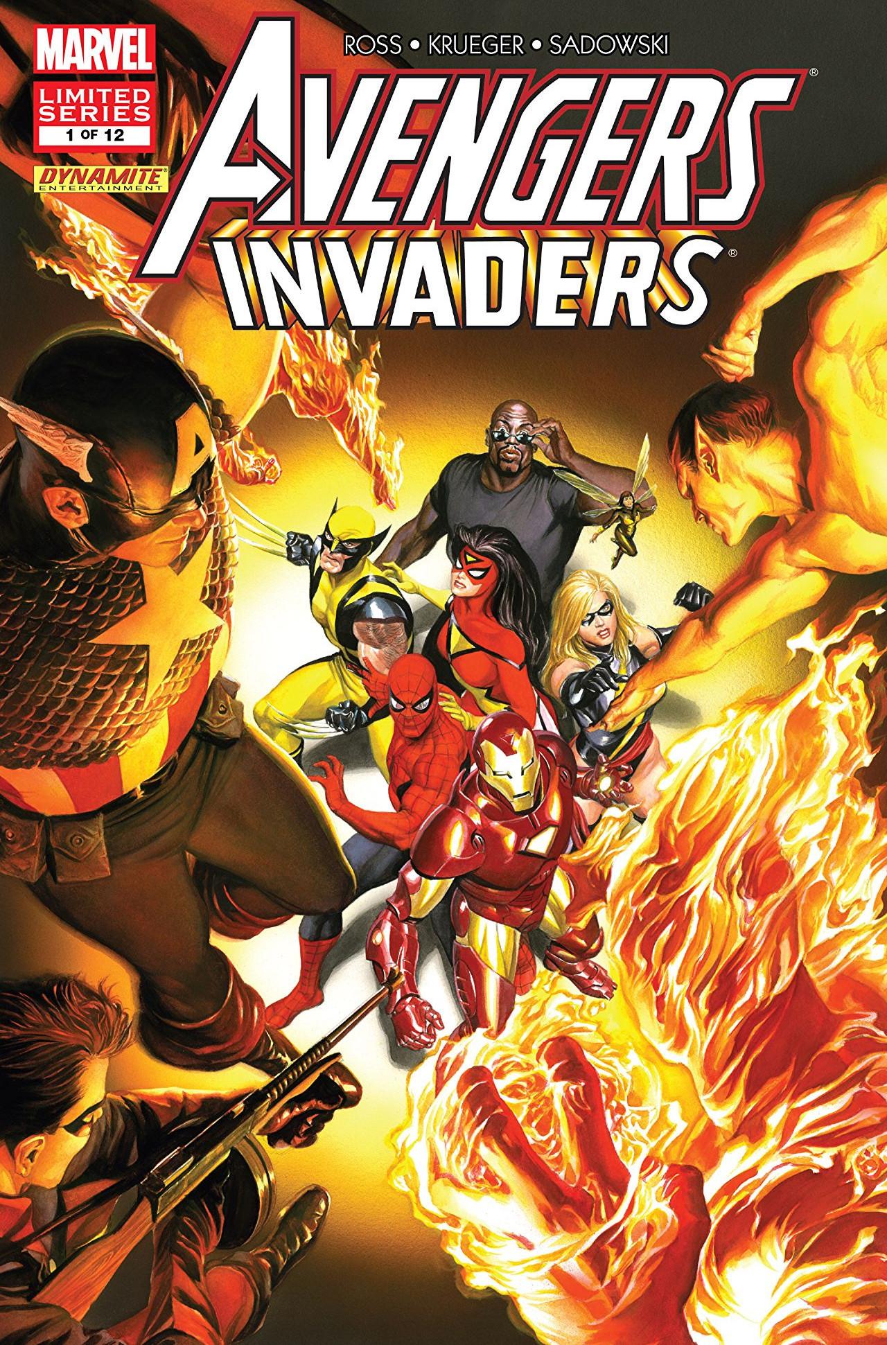 Avengers Invaders Vol 1 1