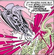 Crimson Crystals of Cyttorak from Doctor Strange Vol 2 34 001