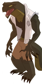 Curtis Connors (Earth-26496) from Spectacular Spider-Man Animated Series 002