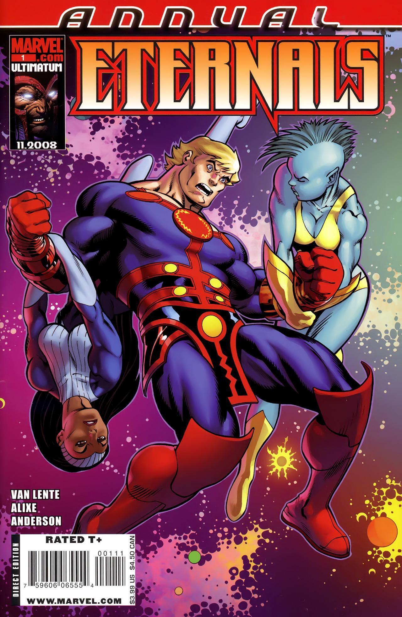 4 1 My Fall Uniform: Eternals Annual Vol 4 1