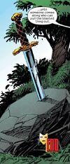 Excalibur (Sword) from Iron Man Vol 3 61 001
