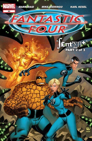 Fantastic Four Vol 3 63