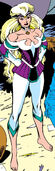 Meggan (Earth-597) from Excalibur Vol 1 9 0001
