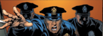 New York City Police Department (Earth-55921) from Ultimate Iron Man Vol 1 1 001