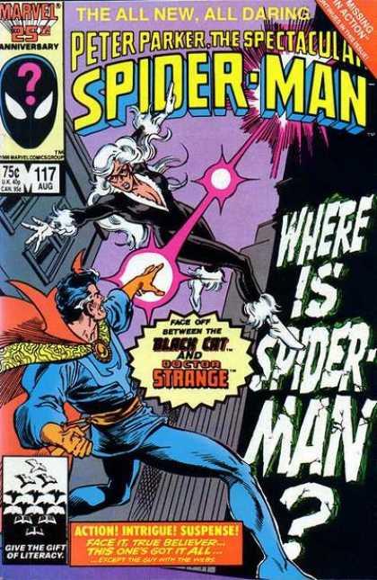 Peter Parker, The Spectacular Spider-Man Vol 1 117