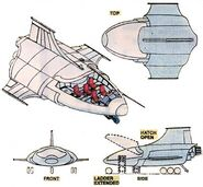Quinjet from Official Handbook of the Marvel Universe Vol 2 1 001
