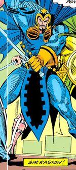 Sir Raston (Earth-616) from Avengers Annual Vol 1 21 0001